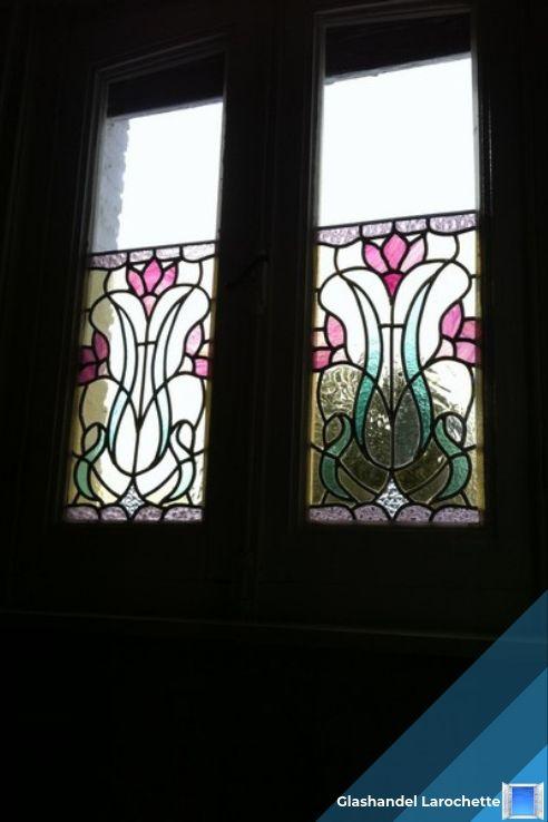Renovatie van decoratieve glasramen