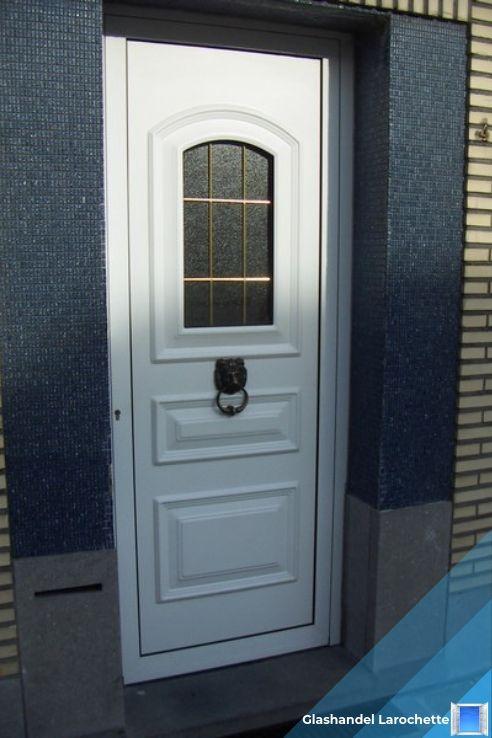 Glasraam in voordeur