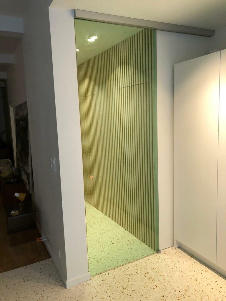 binnendeur helder glas